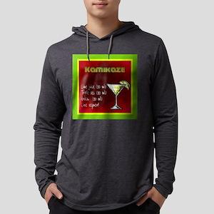Kamikaze (Green/Red) Long Sleeve T-Shirt