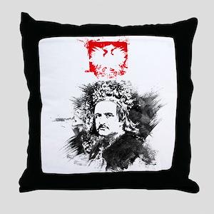 King Jagiello Throw Pillow
