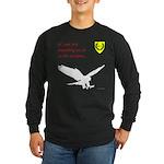 Not Just Falconry Long Sleeve Dark T-Shirt