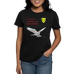 Not Just Falconry Women's Dark T-Shirt