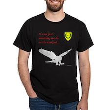 Not Just Falconry Dark T-Shirt