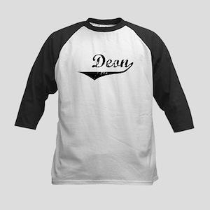 Deon Vintage (Black) Kids Baseball Jersey