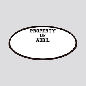 Property of ABRIL Patch