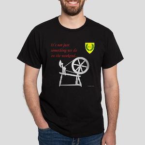 Not just Fiber Arts Dark T-Shirt