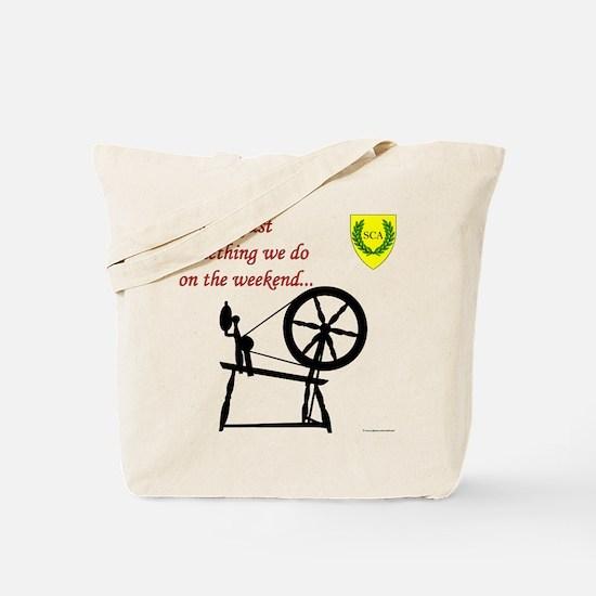 Not just Fiber Arts Tote Bag