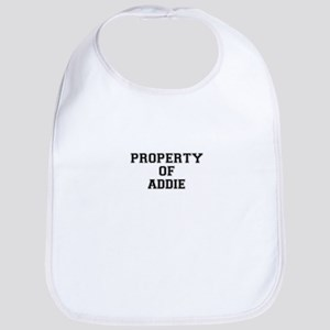 Property of ADDIE Bib