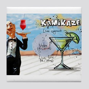 Kamikaze (Pool) Tile Coaster