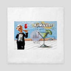 Kamikaze (Pool) Queen Duvet
