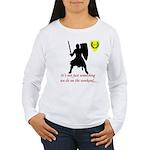 Not Just Heavy Fighting Women's Long Sleeve T-Shir