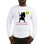 Not Just Heavy Fighting Long Sleeve T-Shirt