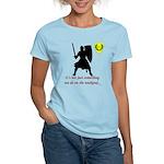 Not Just Heavy Fighting Women's Light T-Shirt
