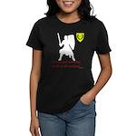 Not Just Heavy Fighting Women's Dark T-Shirt
