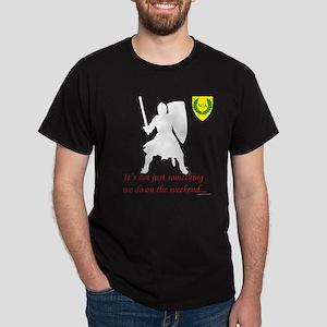 Not Just Heavy Fighting Dark T-Shirt