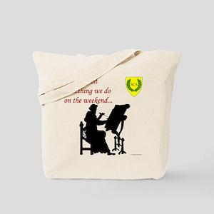 Not Just Scribal Arts Tote Bag