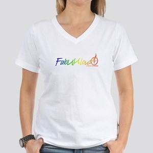 """FabUUlous"" Women's V-Neck T-Shirt"