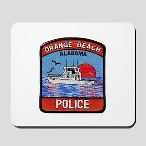 Orange Beach Police Mousepad
