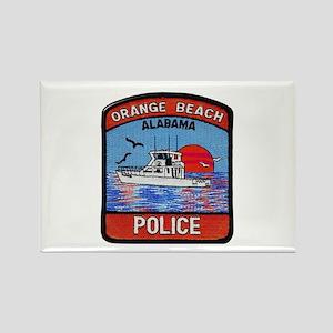Orange Beach Police Magnets