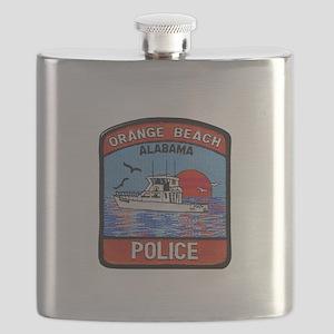Orange Beach Police Flask