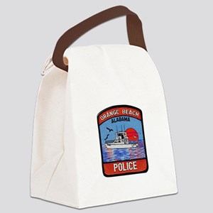 Orange Beach Police Canvas Lunch Bag