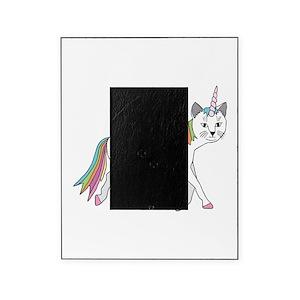 Unicorn Rainbow Picture Frames Cafepress