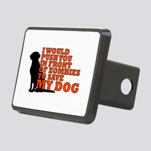 I would push you in front Rectangular Hitch Cover
