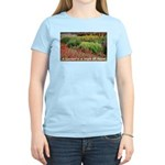 Garden is a work of heart Women's Light T-Shirt