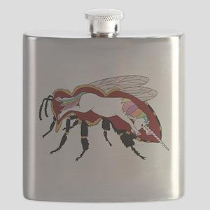 Unicorn Bee Flask