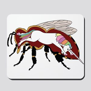 Unicorn Bee Mousepad