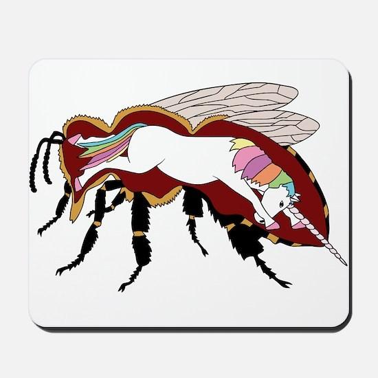 Unicorn Bee Mousepad