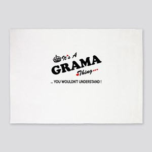 GRAMA thing, you wouldn't understan 5'x7'Area Rug