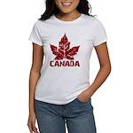 Cool Canada Souvenir Women's T-Shirt