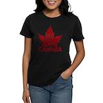 Cool Canada Souvenir Women's Dark T-Shirt