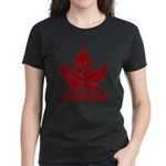 Cool Canada Souvenir Women's Dark T-Shirt