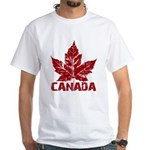 Cool Canada Souvenir White T-Shirt