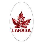 Cool Canada Souvenir Oval Sticker