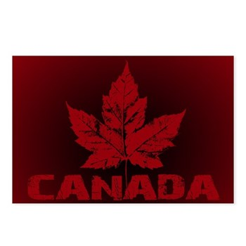 Cool Canada Souvenir Postcards (Package of 8)