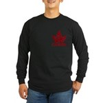Cool Canada Souvenir Long Sleeve Dark T-Shirt