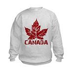 Cool Canada Souvenir Kids Sweatshirt