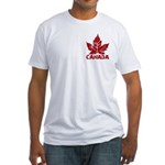 Cool Canada Souvenir Fitted T-Shirt