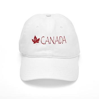 Cool Canada Souvenir Baseball Cap Maple Leaf Art