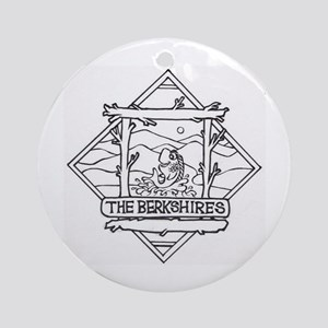The Berkshires Ornament (Round)