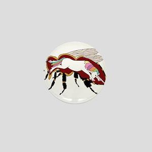 Unicorn Bee Mini Button