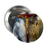 """Crucifix/Pieta 2.25"""" Button (10 pack)"""