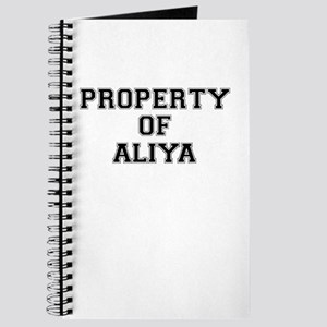 Property of ALIYA Journal