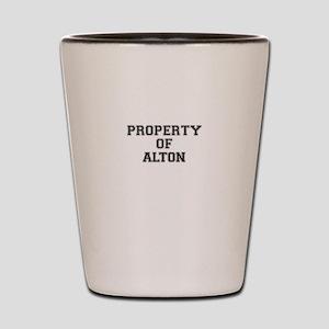 Property of ALTON Shot Glass