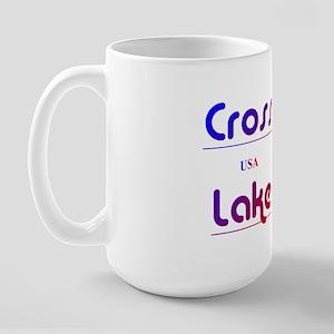 Cross Lake Large Mug
