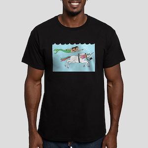 Mermaid Swimming With Unicorn T-Shirt