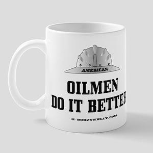 American Oilmen Do It Better Mug