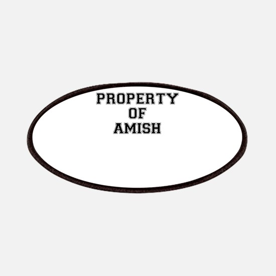 Property of AMISH Patch