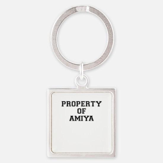 Property of AMIYA Keychains